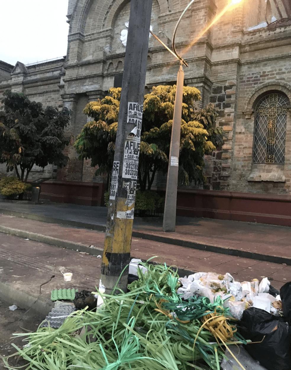 Acumulación de basuras San Benito