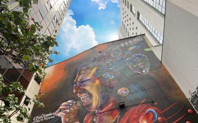 """Un homenaje al """"Titán"""" en plena avenida Oriental"""