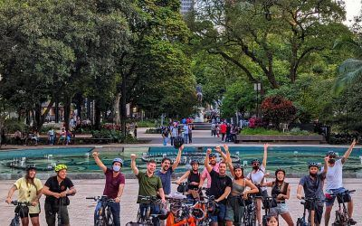 Recorra el centro en bicicleta y conecte con sus espacios