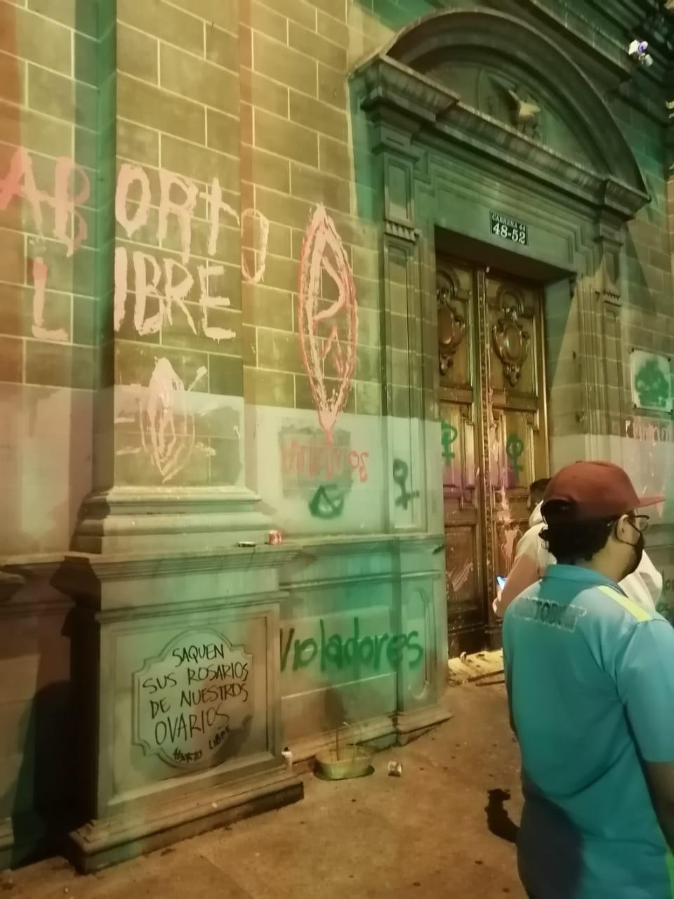 Rechazo acto vandálicos