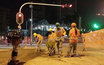 Inicia intervención de la Diagonal 50 en el centro de Medellín