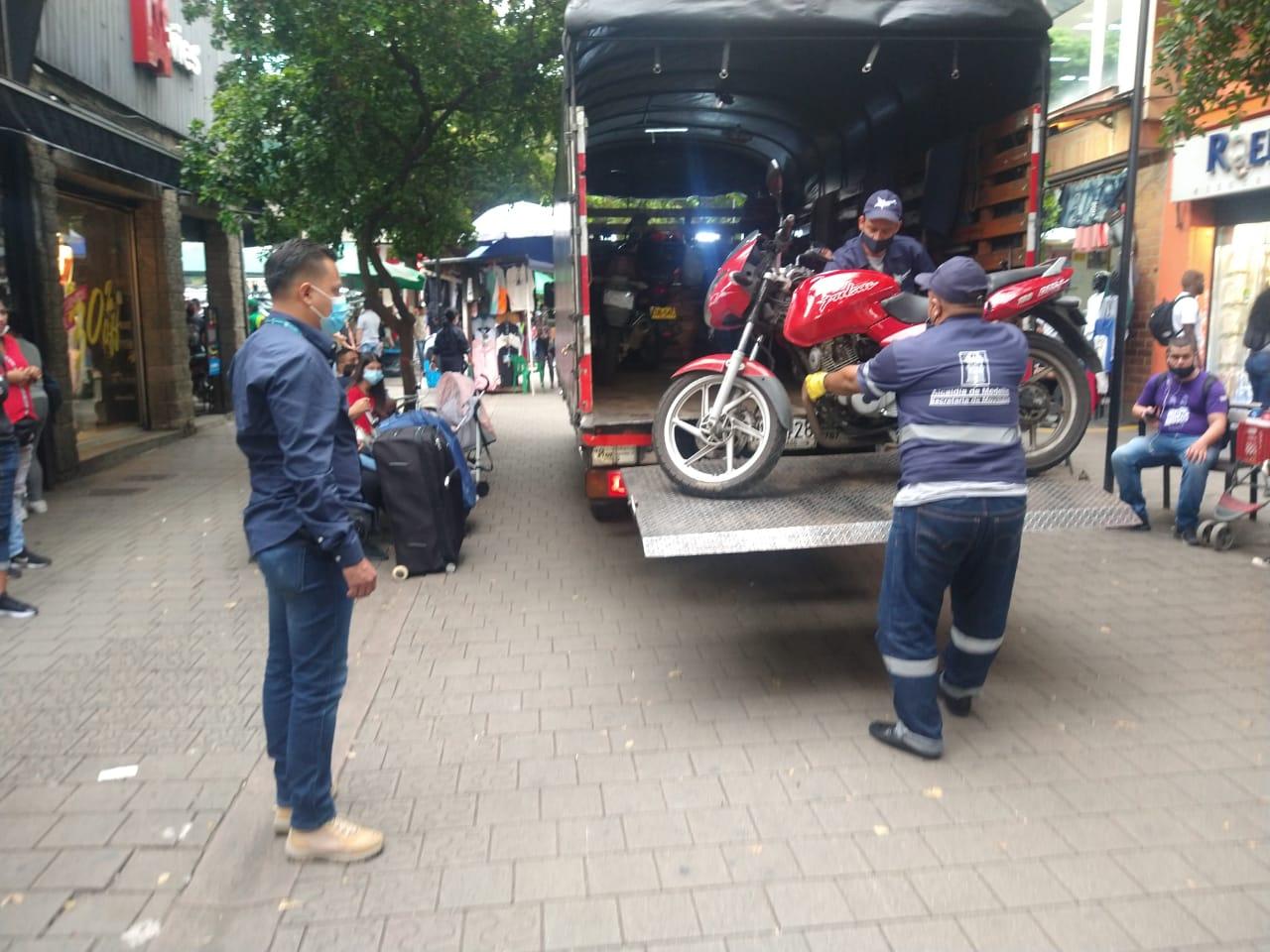 parquear mal operativo movilidad