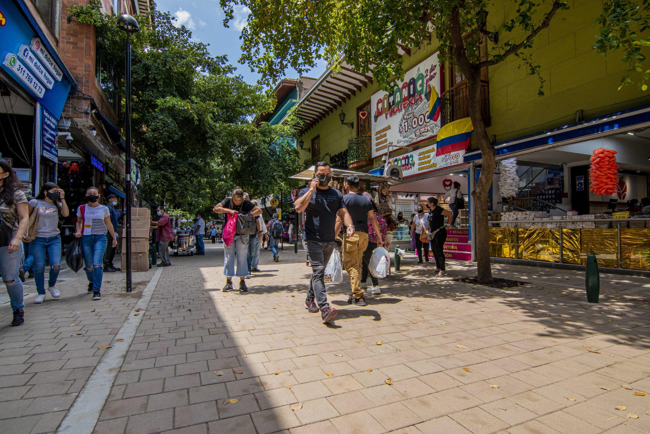 corredor peatonal carabobo