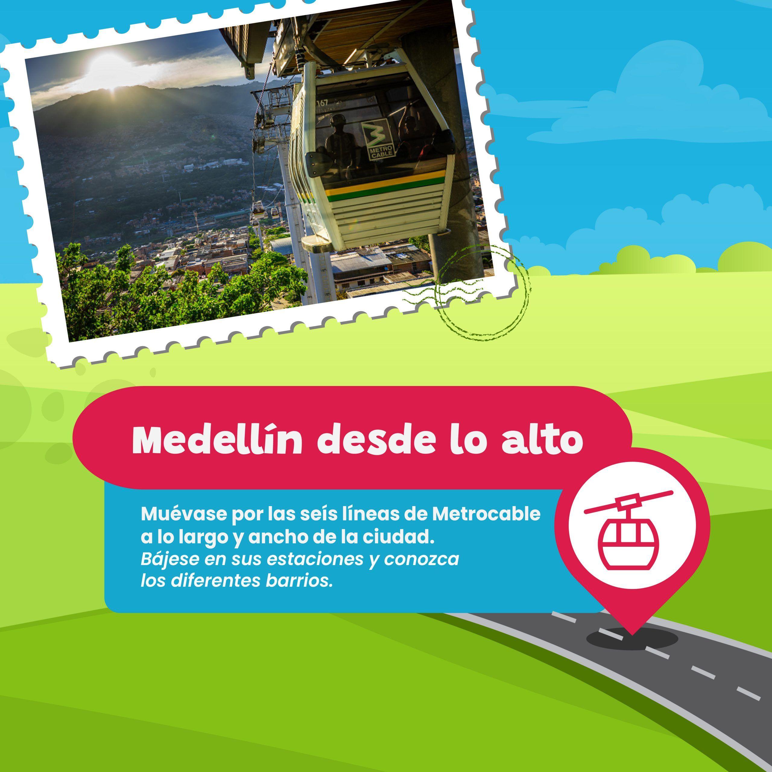 Medellín desde lo alto
